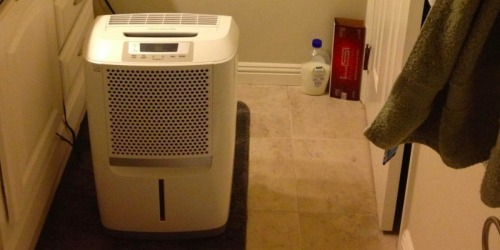 Frigidaire 50-Pint Dehumidifier as Low as $153.98 Shipped + Earn $30 Kohl's Cash