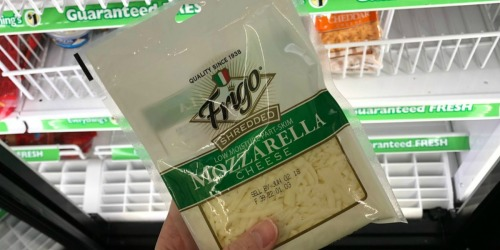 New $0.55/1 Frigo Cheese Coupon = Shredded Cheese Only 45¢ at Dollar Tree