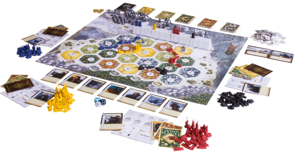 game of thrones catan strategy board game