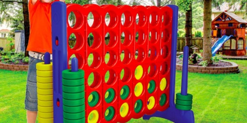 Save on Giantville Life-Sized Outdoor Games on Amazon Today Only (Fun for Entire Family)