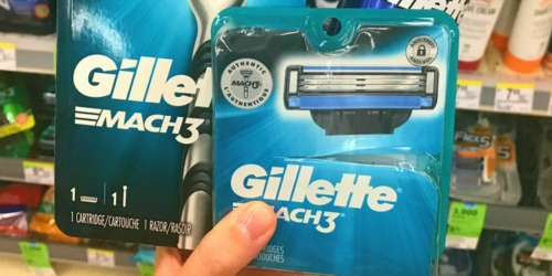 Gillette Mach3 Men's Razor Blade Refills 10ct Only $12 Shipped at Amazon + More
