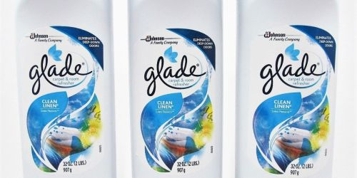 TWO Glade Carpet & Room Refreshers Only $1 at Walgreens.com | Just 50¢ Each