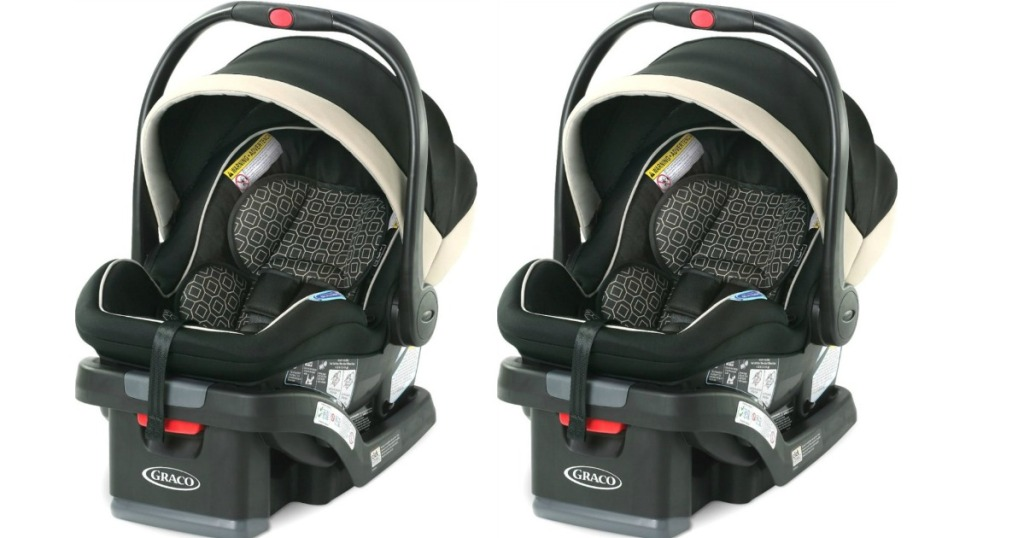 Graco Car seats in tan and black