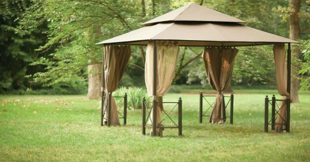 Outdoor Gazebo on the grass