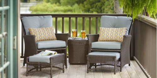 Up to 50% Off Patio Furniture + Free Shipping at Home Depot