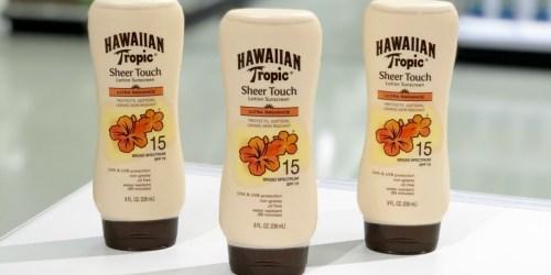 Hawaiian Tropic Lotion Sunscreen Just $4.89 Shipped at Amazon (Regularly $7)