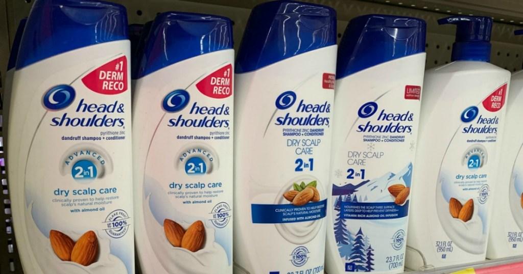 Head & Shoulders Anti-Dandruff haircare on store shelf