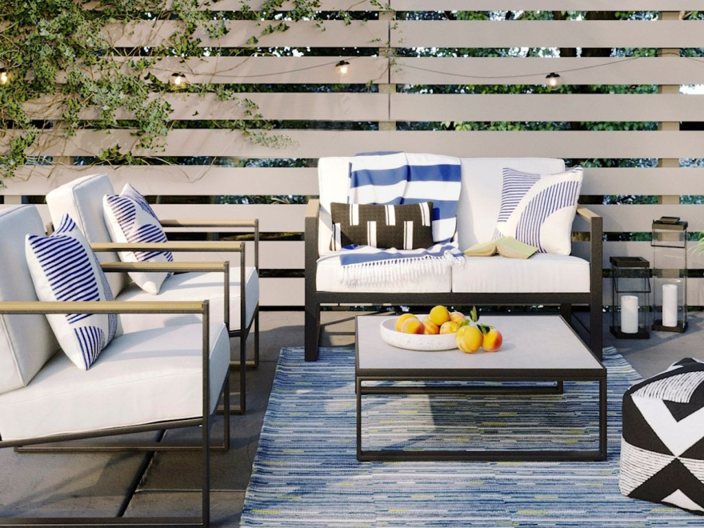 Henning Patio Loveseat - Project 62