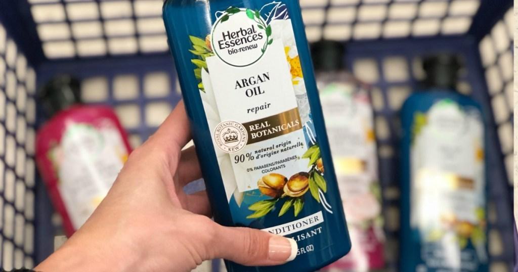 herbal essence in basket