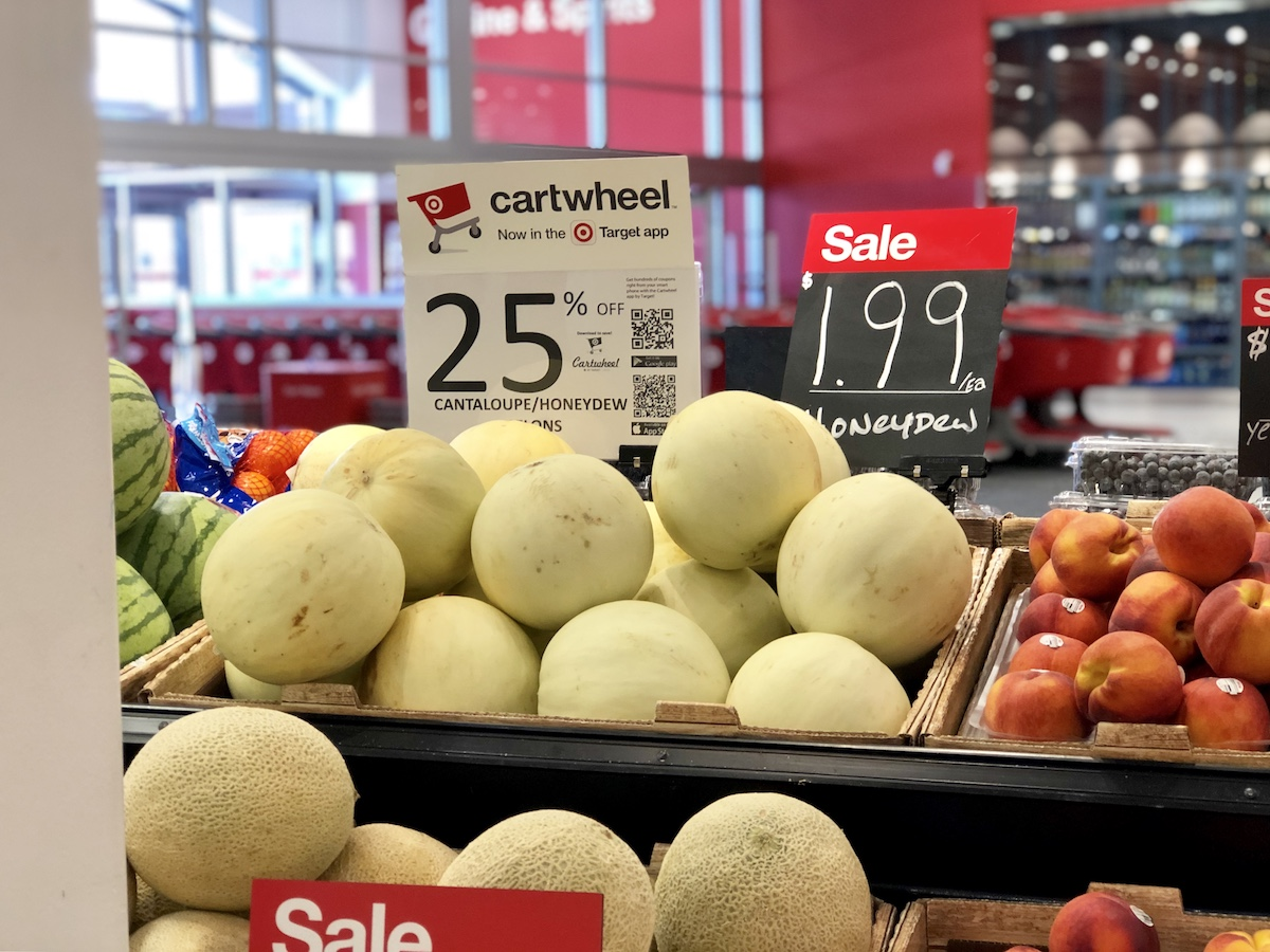 honeydew melons at Target