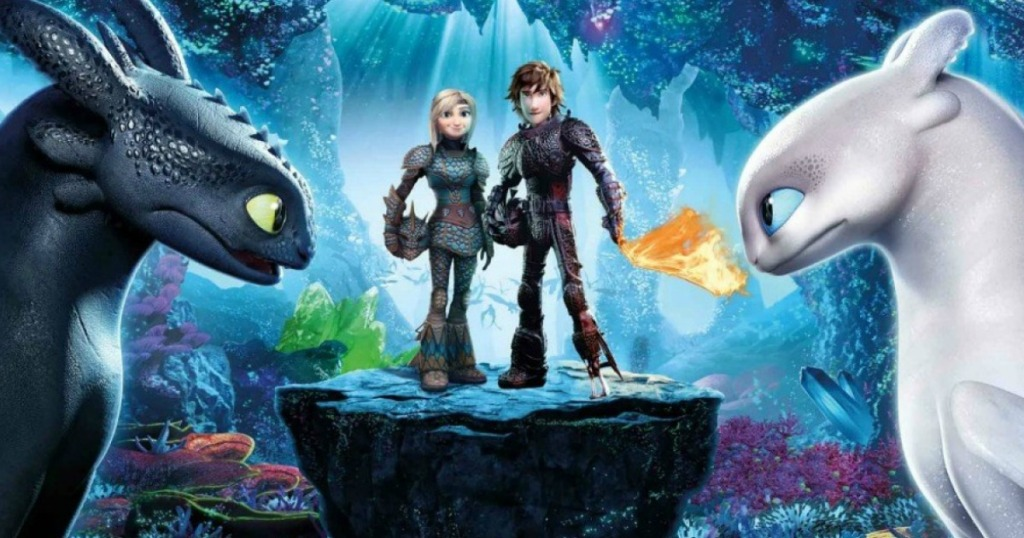 How to train your dragon movie screen clip