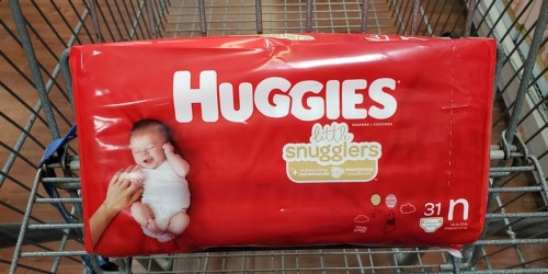 New Huggies Diapers & Pull-Ups Coupons = as Low as $4.96 After Cash Back at Walmart