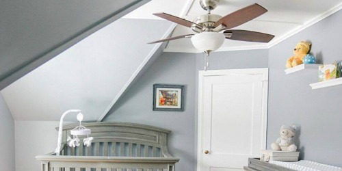 Hunter 5-Blade Ceiling Fan with Light Kit Only $49.99 Shipped + More