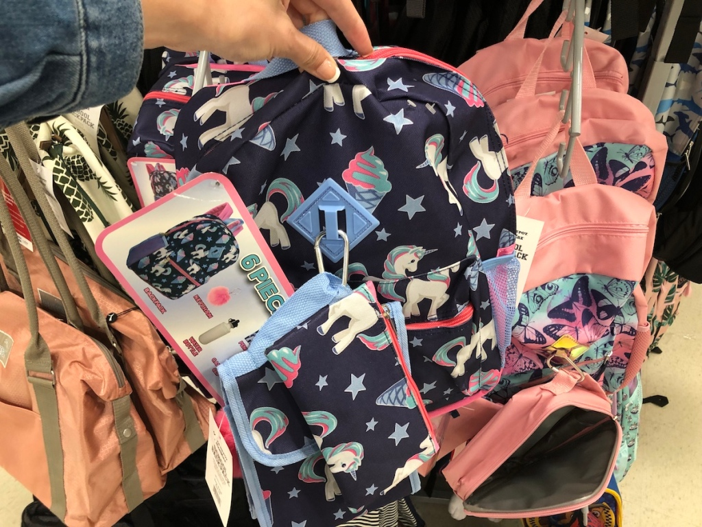 unicorn and ice cream backpack
