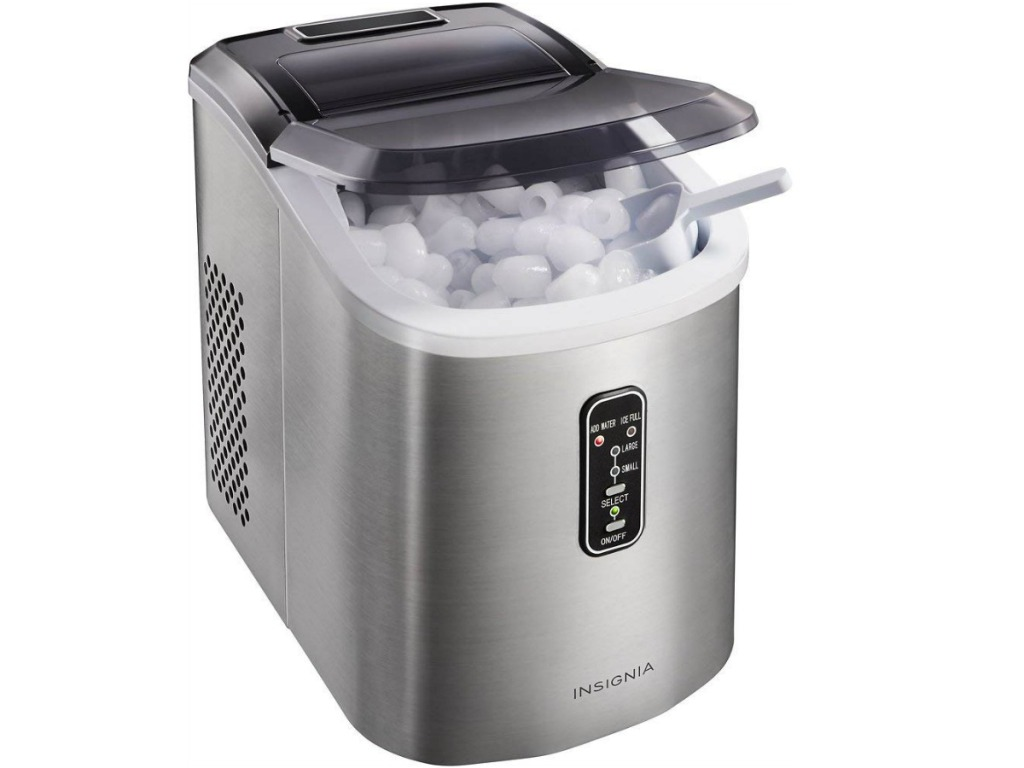 Insignia Portable Ice Maker with Ice