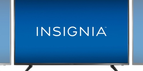 Insignia 55″ LED HDTV Only $219.99 Shipped