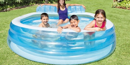Intex Family Inflatable Lounge Pool Only $23.99 (Regularly up to $65)