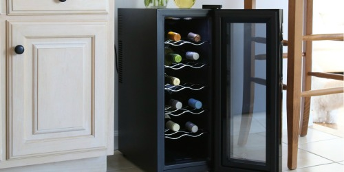 Ivation 12-Bottle Wine Cooler Only $103.99 Shipped (Regularly $160)