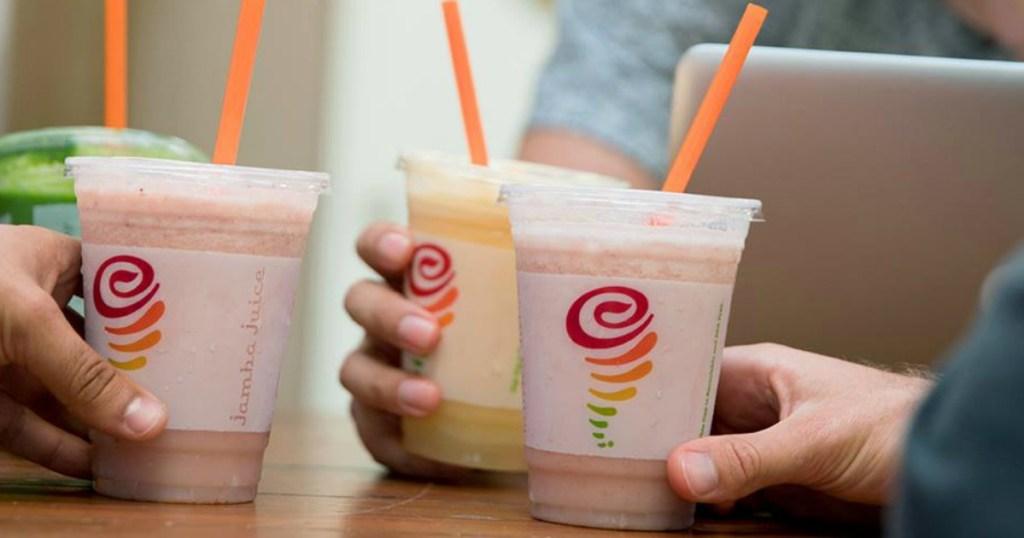 Jamba Juice cups