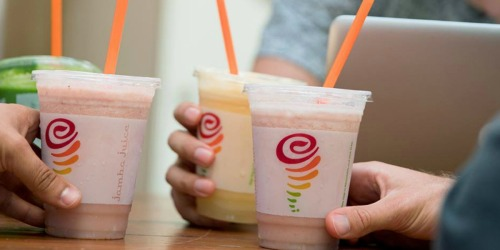 Free Small Jamba Juice Smoothie (June 21st)