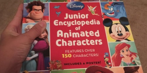 Disney Junior Encyclopedia of Animated Characters Hardcover Book Only $6 (Regularly $12.99)
