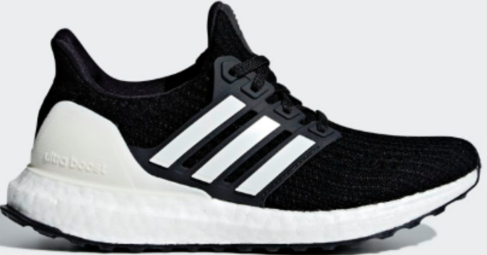 side view of kids adidas shoe
