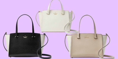 Kate Spade Small Geraldine Satchel Only $89 Shipped (Regularly $329) + More