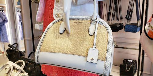 Up to 75% Off Kate Spade Handbags, Wallets & More + Free Shipping