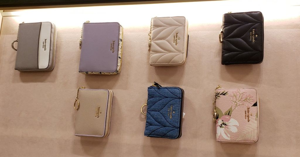 kate spade wallets at store