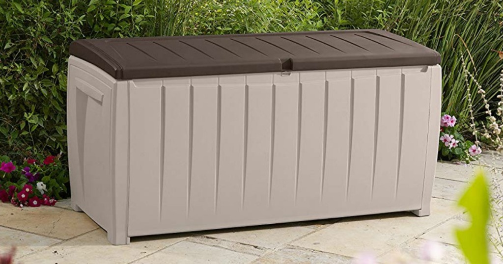Keter deck box