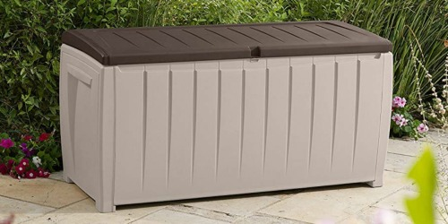 Keter 90-Gallon Deck Box Only $54.99 Shipped (Regularly $90) & More