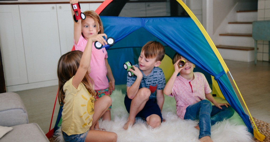 walmart kids play tent