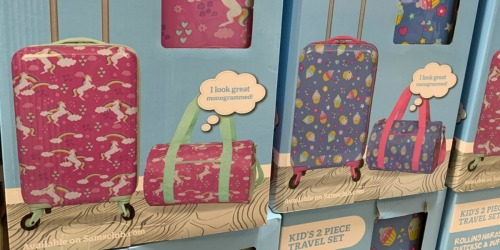 Sam's Club: Kids Suitcase & Duffel Travel Set Only $19.81 (Regularly $40) + More