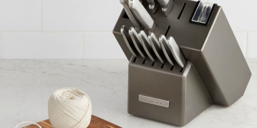 KitchenAid 16-Piece Stainless Steel Cutlery Set Only $55.99 at Macy's + More