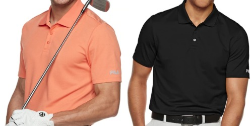 FILA Men's Polo Shirts as Low as $7 Shipped for Kohl's Cardholders (Regularly $30)