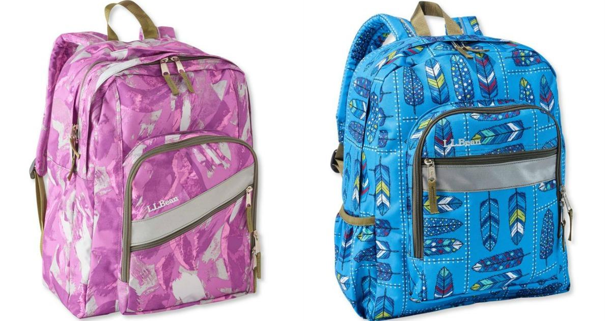 L.L. Bean backpacks