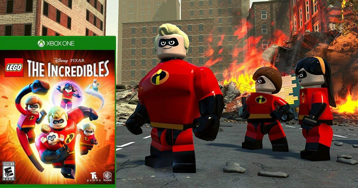 LEGO The Incredibles Xbox One Video Game Only $19.99 ...