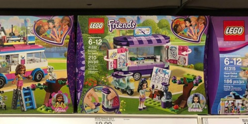 LEGO Friends Emma's Art Stand Set Just $11.99 (Regularly $20)