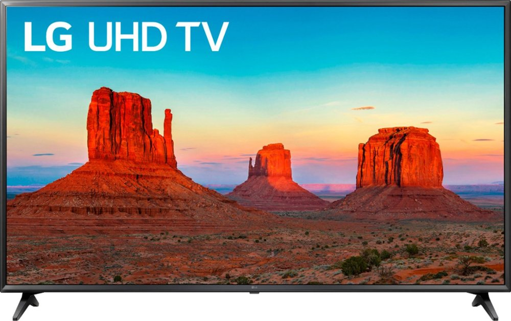 TV with landscape on it