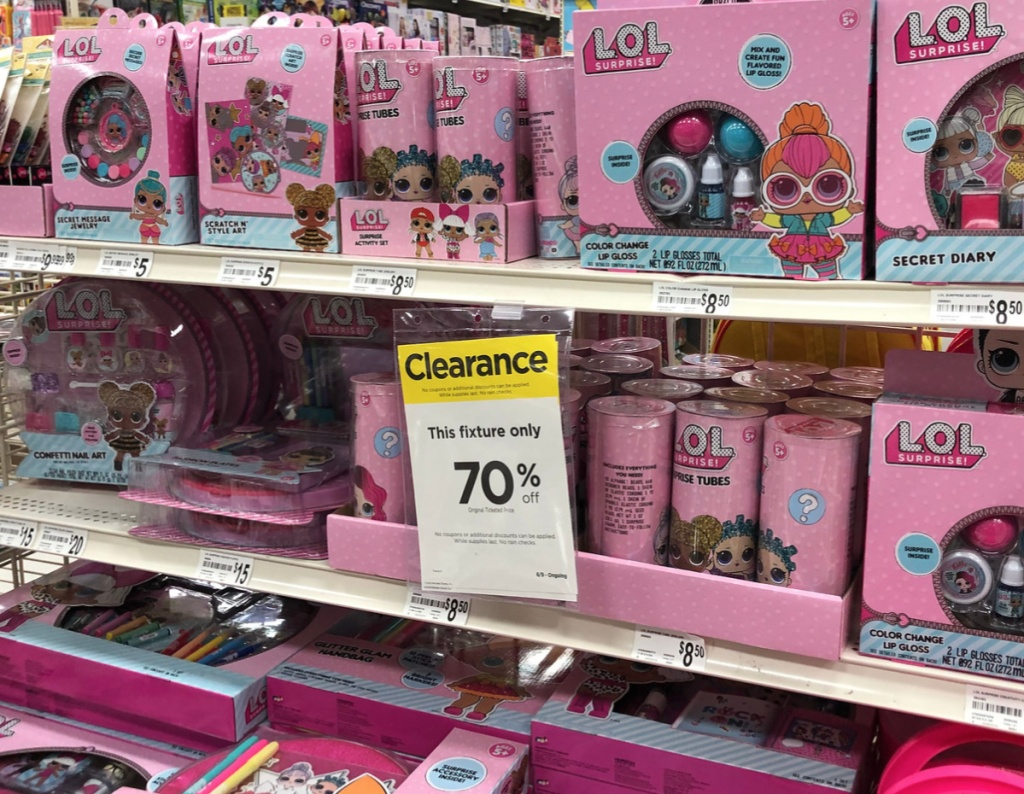 LOL Clearance at Michaels