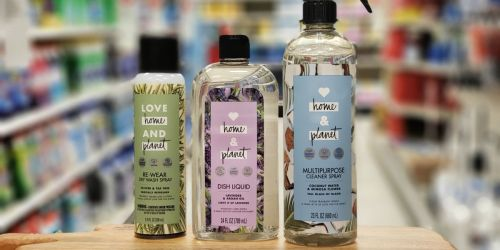 45% Off Love Home & Planet Cleaning Products After Cash Back at Target