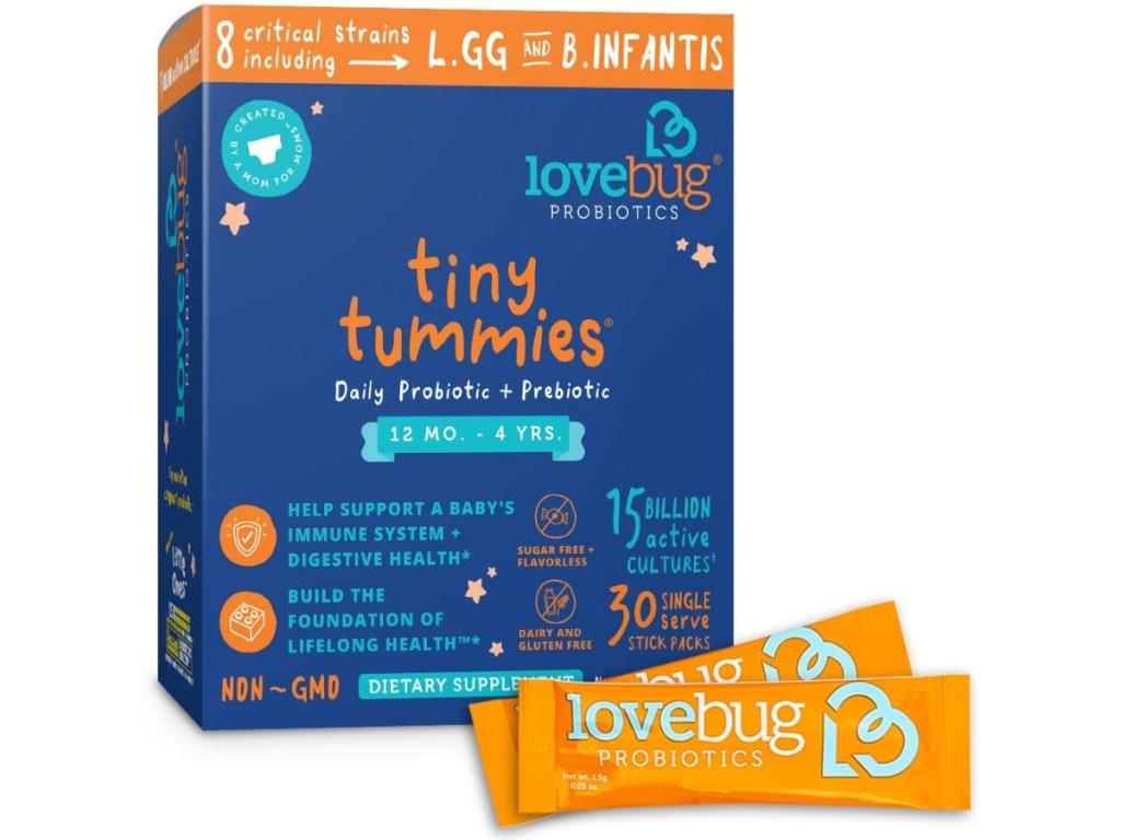 Lovebug Tiny Tummies Probiotics
