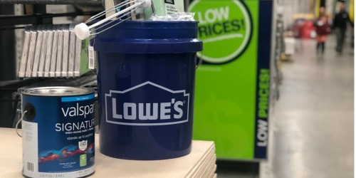 Planning a DIY Home Project? Get up to $45 Rebate w/ Paint, Stain, & Floor Coatings Purchase at Lowe's