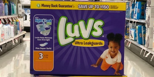 Amazon: Luvs Diapers One-Month Supply as Low as $16.78 Shipped (Just 7¢ Per Diaper)