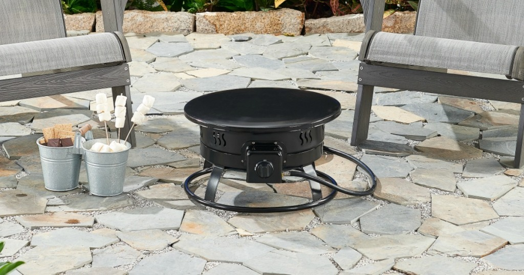 Mainstays Portable Outdoor Fire Pit Just 53 Shipped