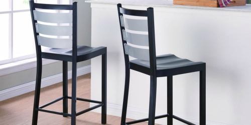 Up to 70% Off Furniture at Walmart.com (Bar Stools, Recliner w/ Ottoman & More)