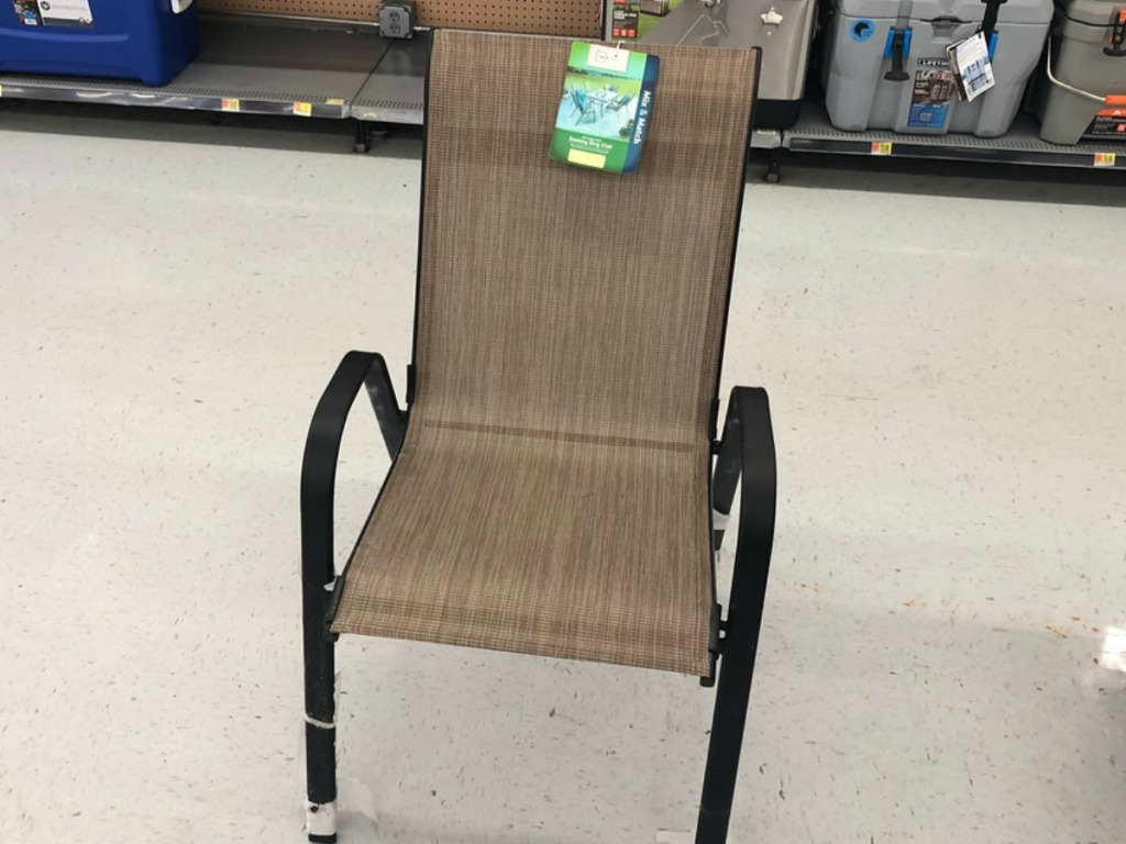 Stupendous Mainstays Stacking Sling Chairs Only 10 At Walmart Home Interior And Landscaping Sapresignezvosmurscom