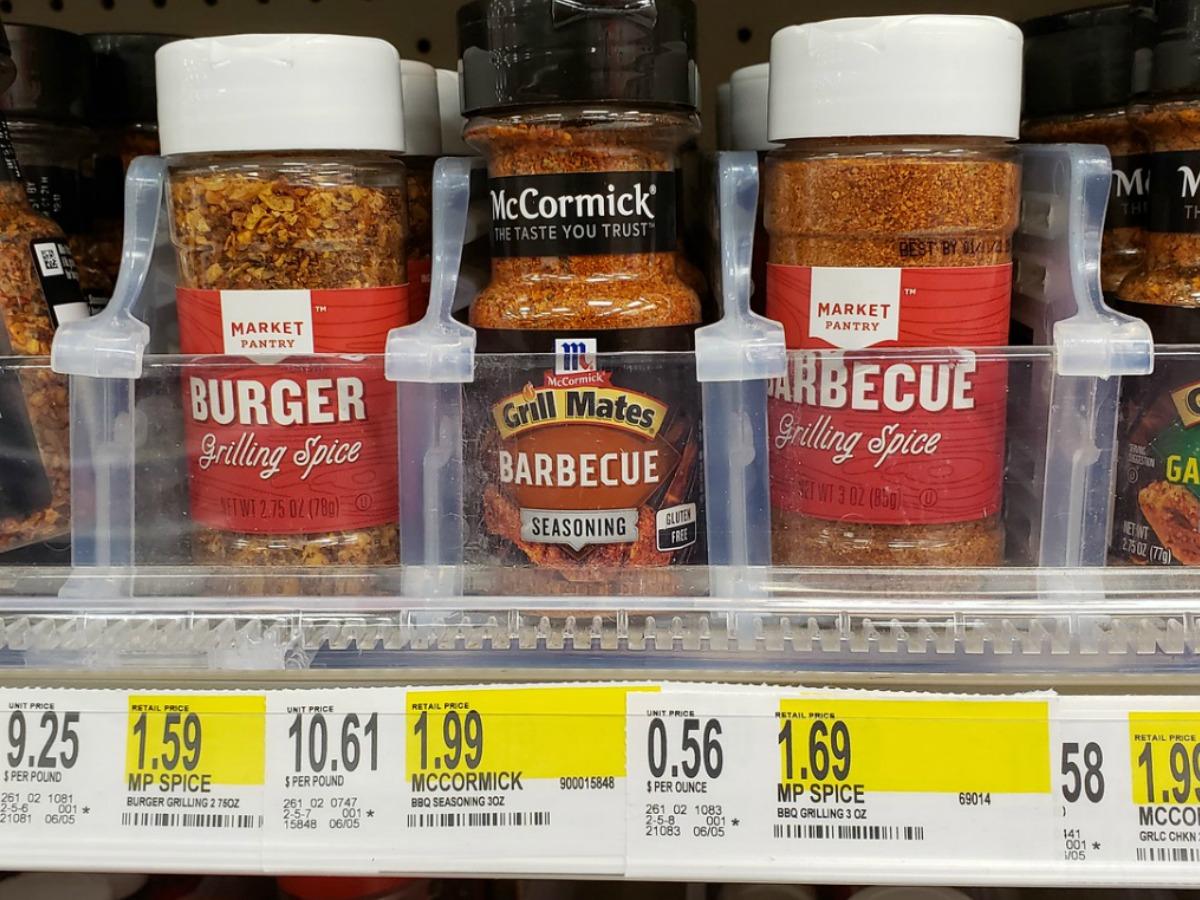 market pantry spices on Target shelf