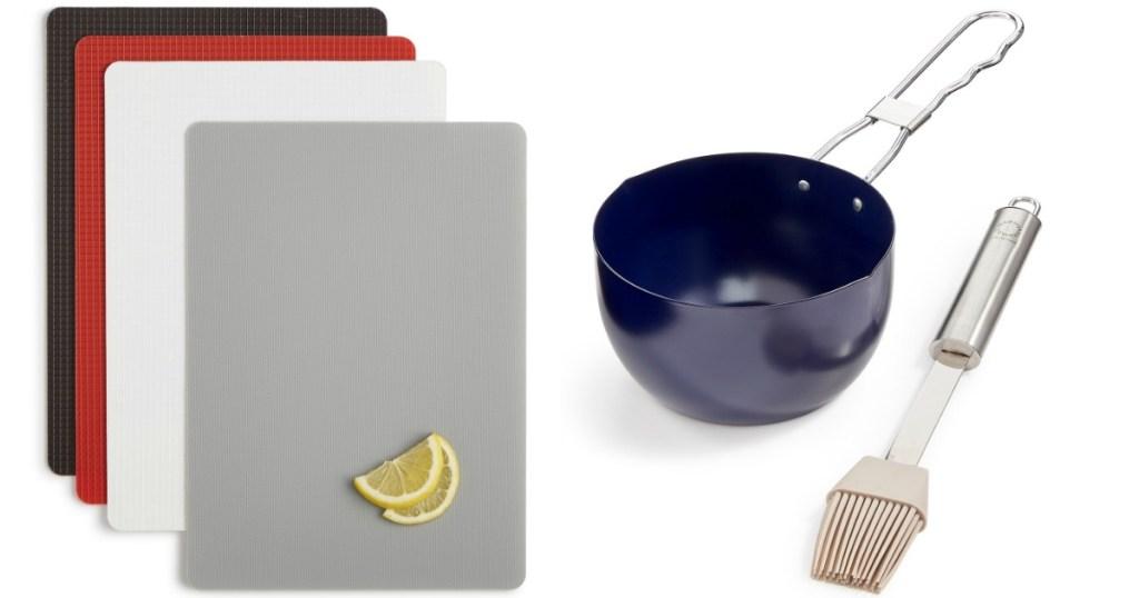 Martha Stewart Mats and bowl with basting brush