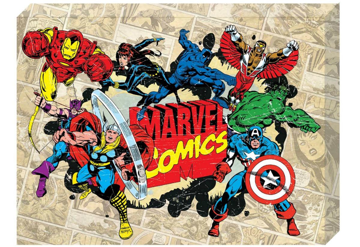 Marvel comics canvas
